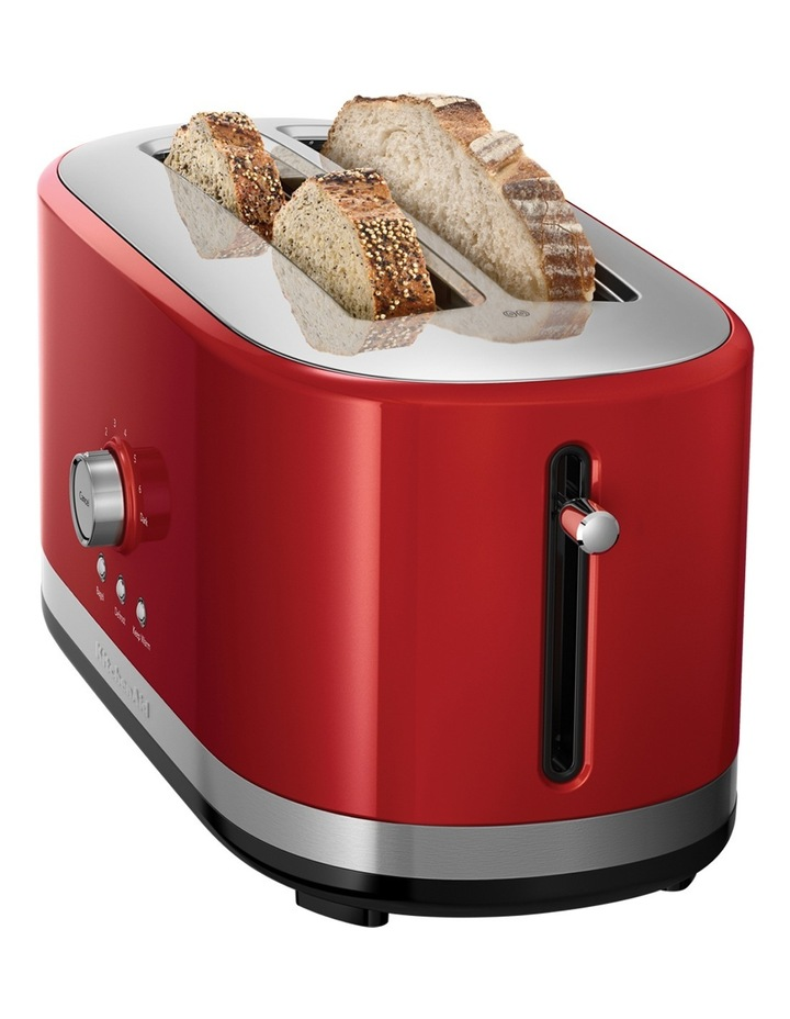 Artisan 4 Slice Long Slot Toaster: Empire Red image 2