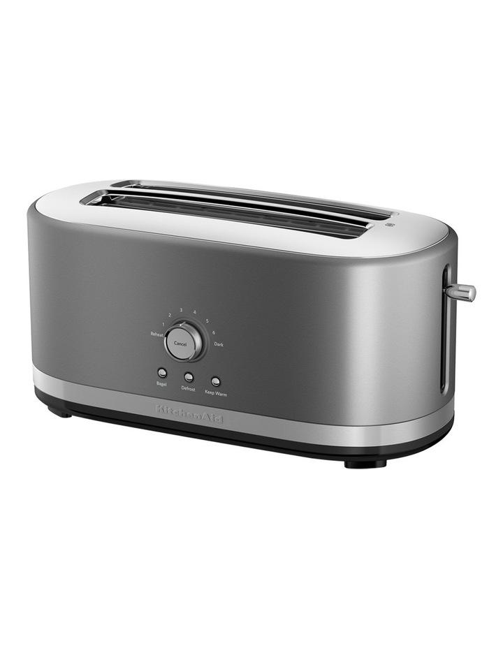 Artisan 4 Slice Long Slot Toaster: Contour Silver image 1
