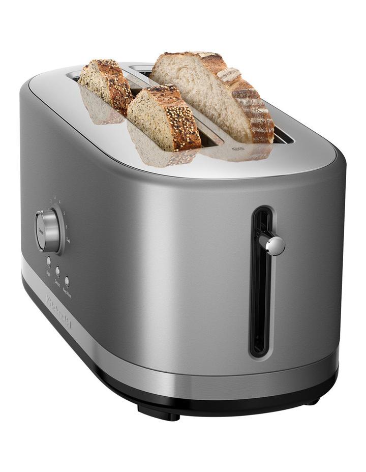 Artisan 4 Slice Long Slot Toaster: Contour Silver image 2