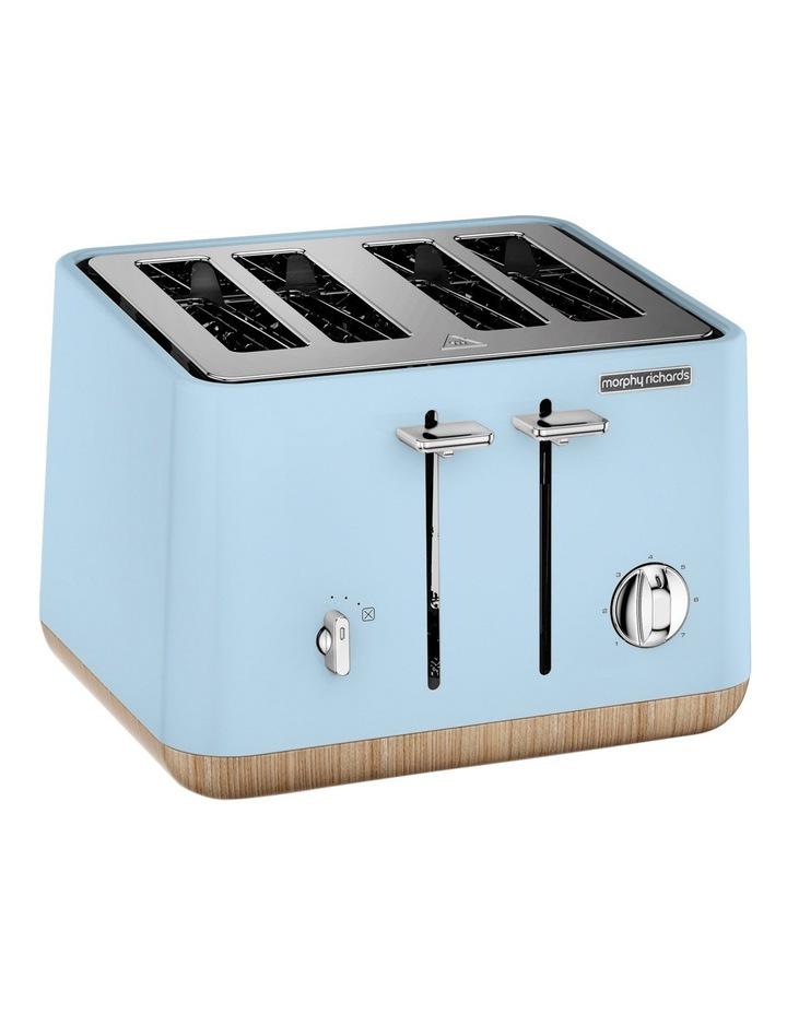 Scandi Aspects Wood 4 Slice Toaster Azure 240008 image 1