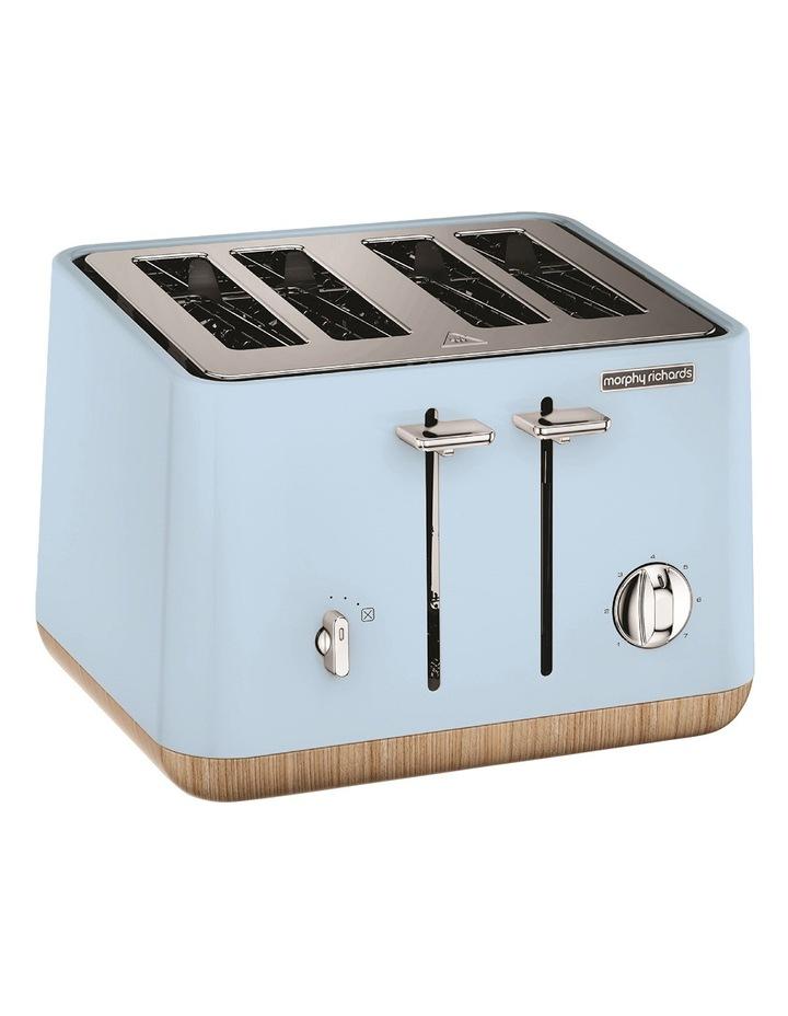 Scandi Aspects Wood 4 Slice Toaster Azure 240008 image 2