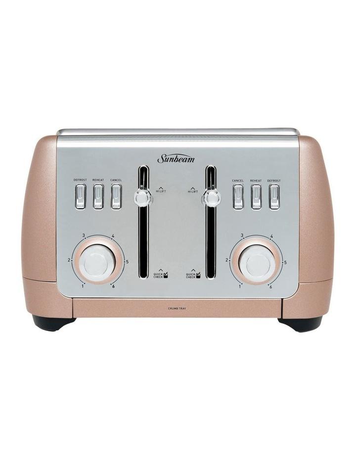 London Collection 4 slice toaster: Rose Bronze TA2240BZ image 1