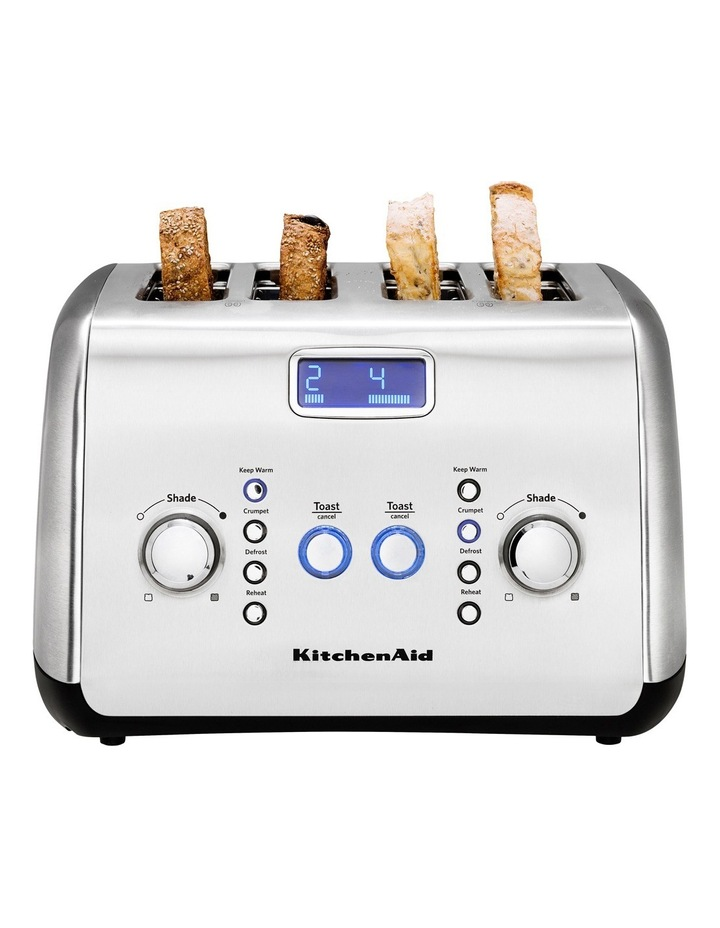 Kitchenaid Artisan 4 Slice Toaster: Stainless Steel KMT423 image 2