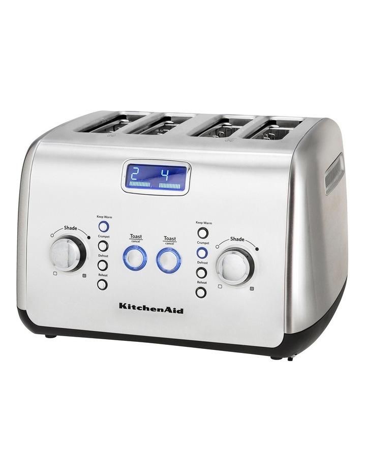 Kitchenaid Artisan 4 Slice Toaster: Stainless Steel KMT423 image 6