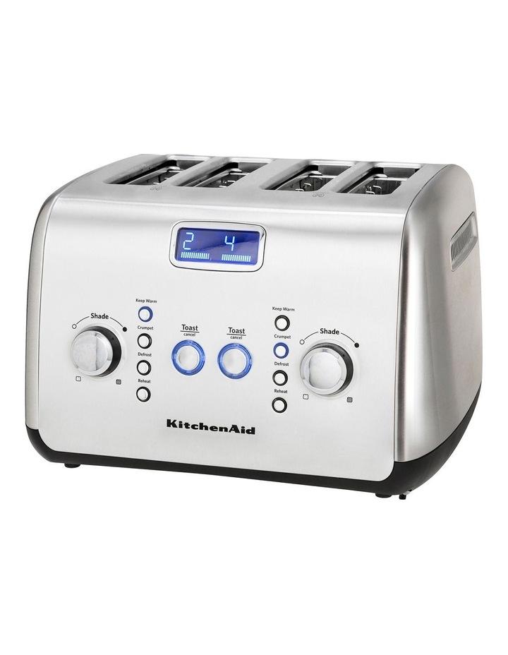 Kitchenaid Artisan 4 Slice Toaster: Stainless Steel KMT423 image 5