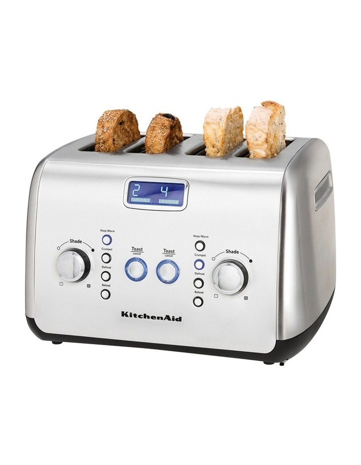 Kitchenaid Artisan 4 Slice Toaster: Stainless Steel KMT423 image 8