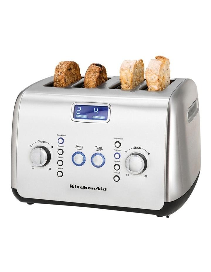 Kitchenaid Artisan 4 Slice Toaster: Stainless Steel KMT423 image 7