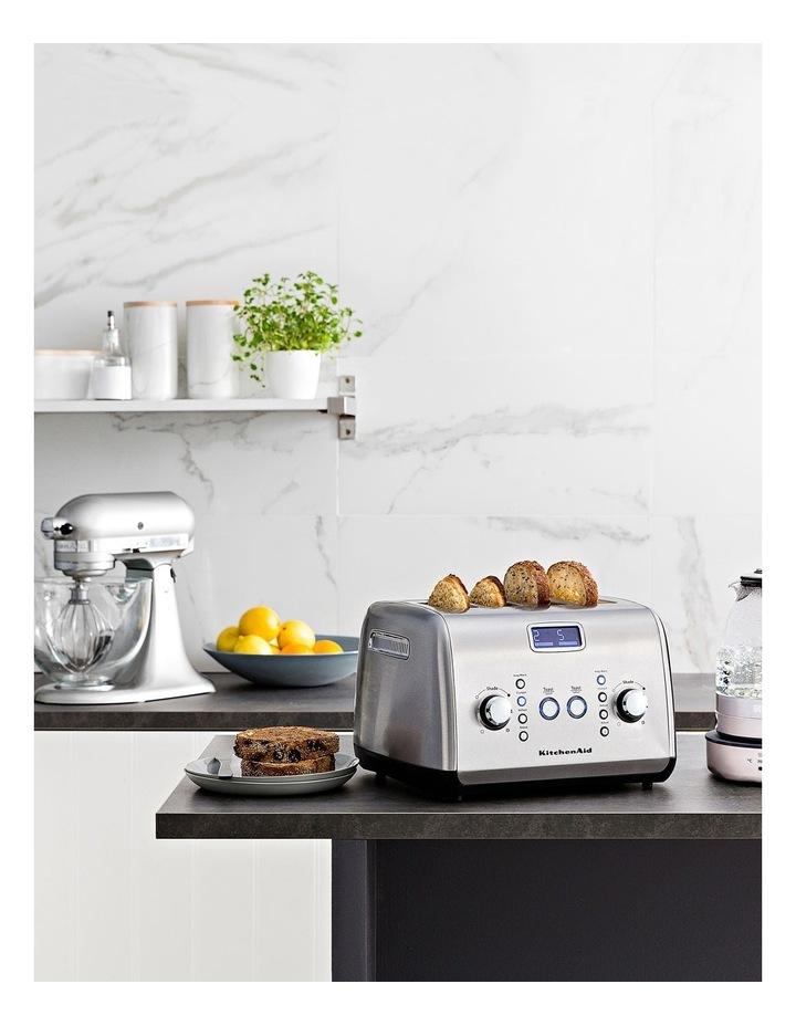 Kitchenaid Artisan 4 Slice Toaster: Stainless Steel KMT423 image 9