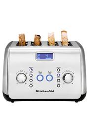 KitchenAid - Artisan 4 Slice Toaster Slice Stainless: KMT423