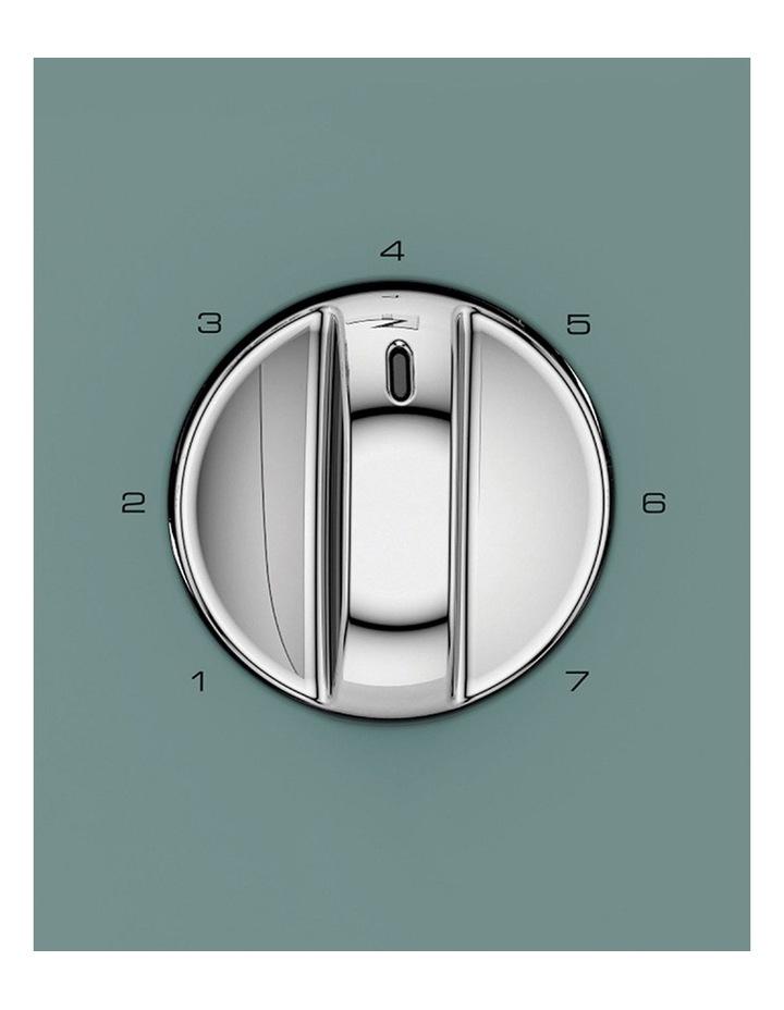 Scandi Aspects Wood 4 Slice Toaster: Teal 240009 image 3
