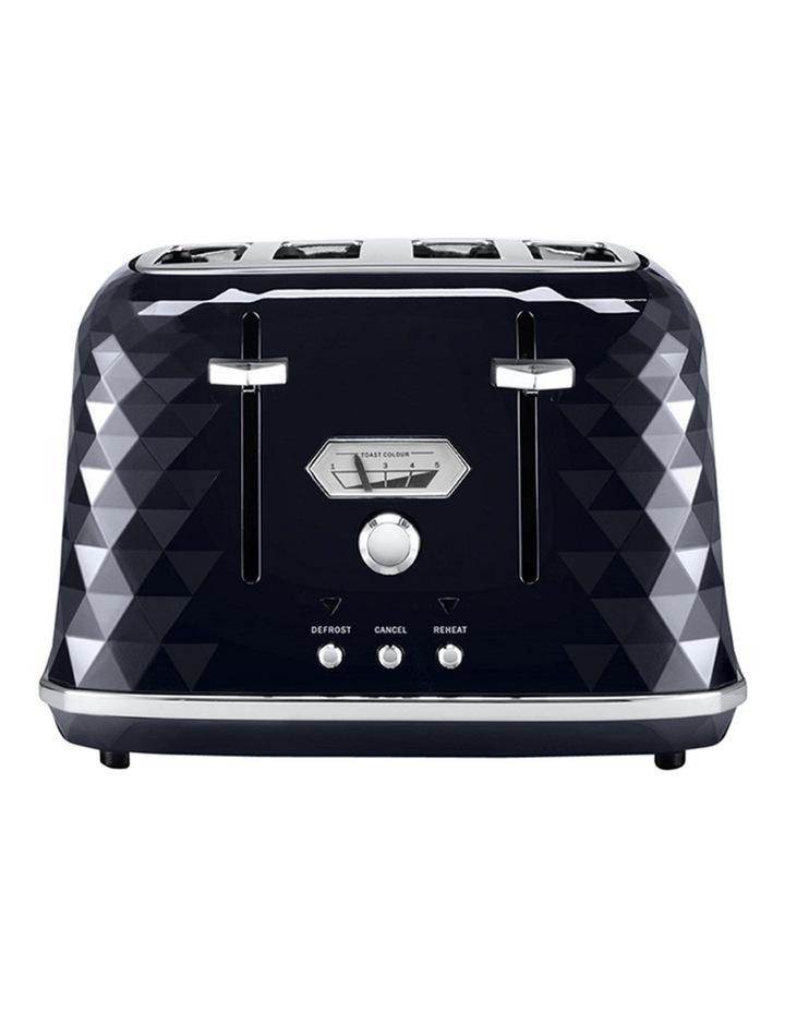 Brillante Exclusive 4 Slice Toaster Black CTJX4003BK image 1