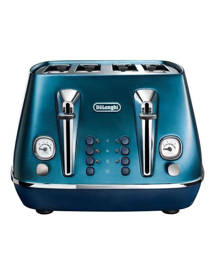 Distinta Flair 4 Slice Toaster - Prestige Blue CTI4003BL image 1