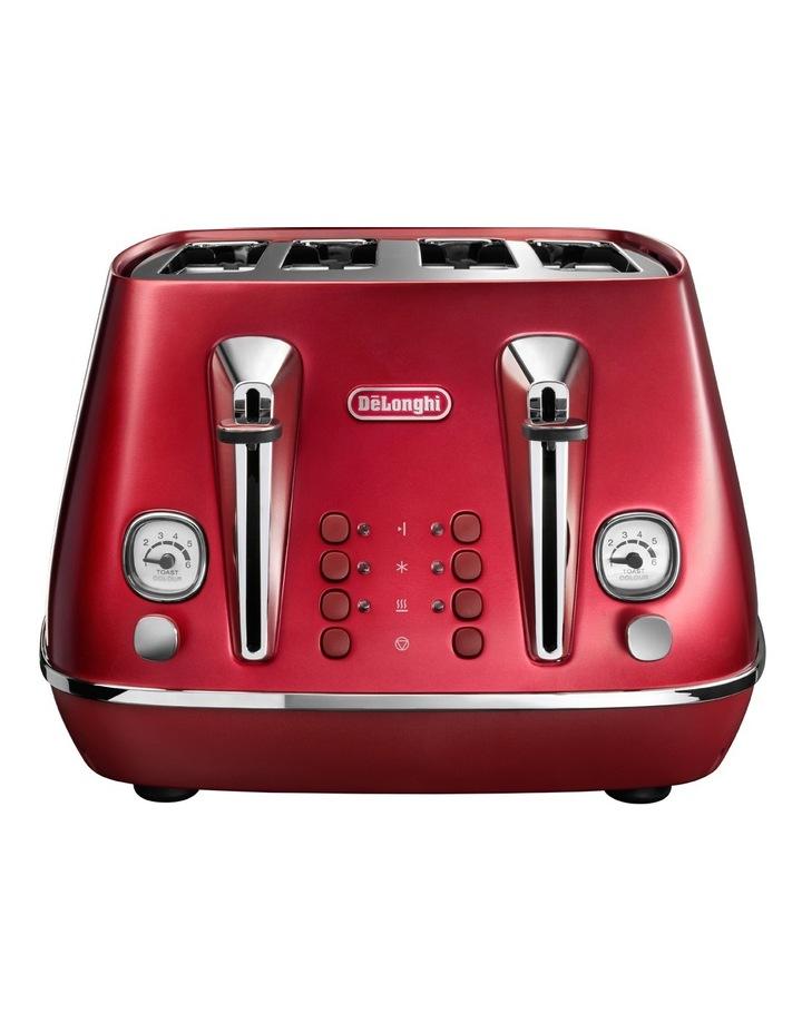 Distinta Flair 4 Slice Toaster - Glamour Red CTI4003R image 1