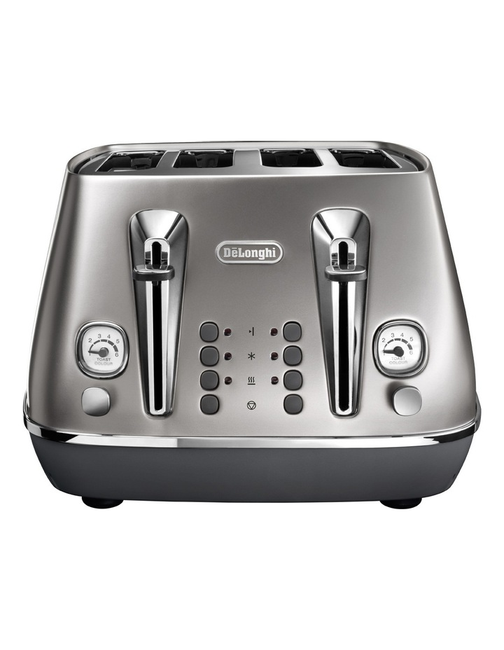 Distinta Flair 4 Slice Toaster - Finesse Silver CTI4003S image 2