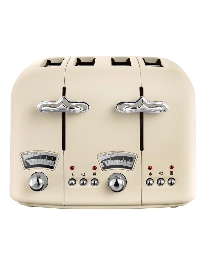Argento 4 Slice Toaster: Beige: CT04BG image 2