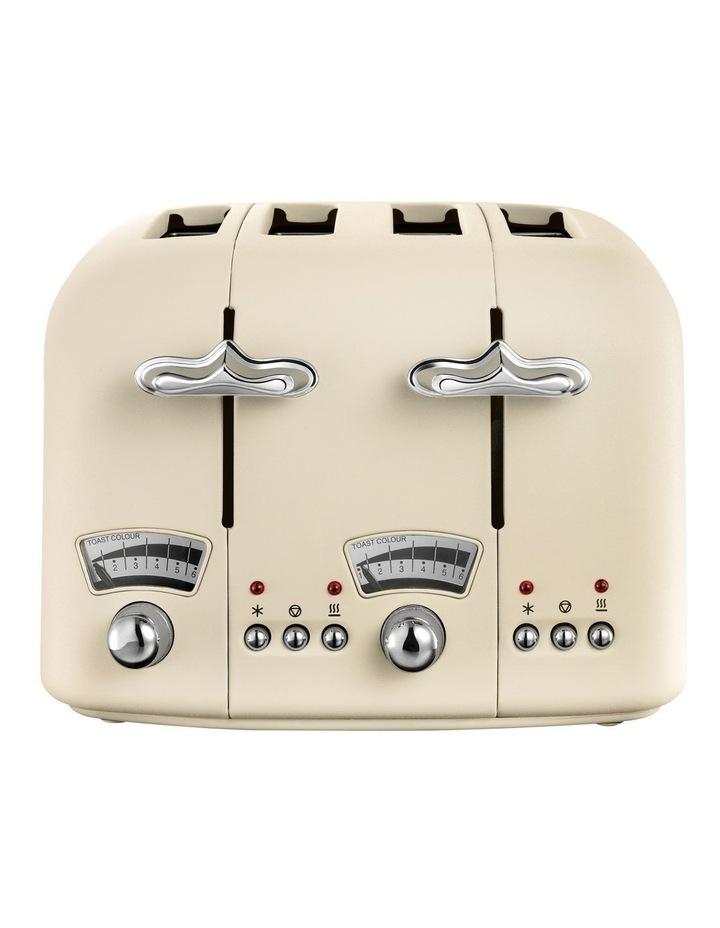 Argento 4 Slice Toaster: Beige: CT04BG image 1