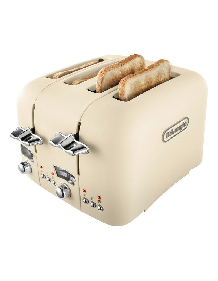Argento 4 Slice Toaster: Beige: CT04BG image 4