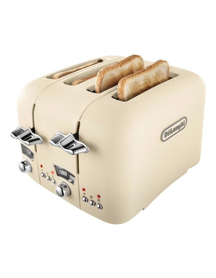 Argento 4 Slice Toaster: Beige: CT04BG image 3