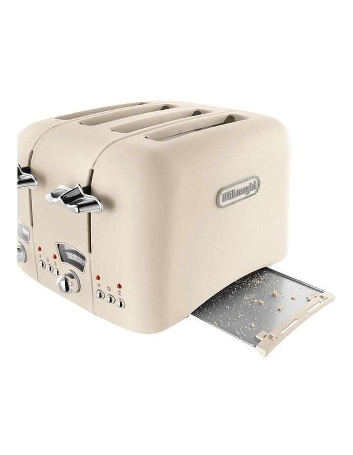 Argento 4 Slice Toaster: Beige: CT04BG image 5