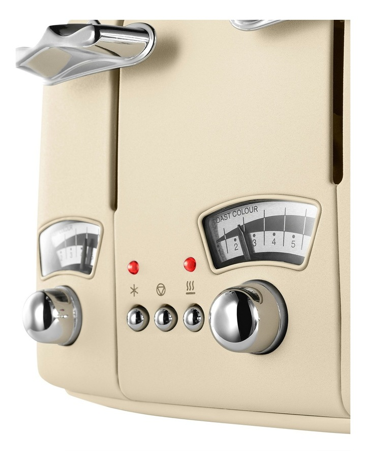 Argento 4 Slice Toaster: Beige: CT04BG image 8