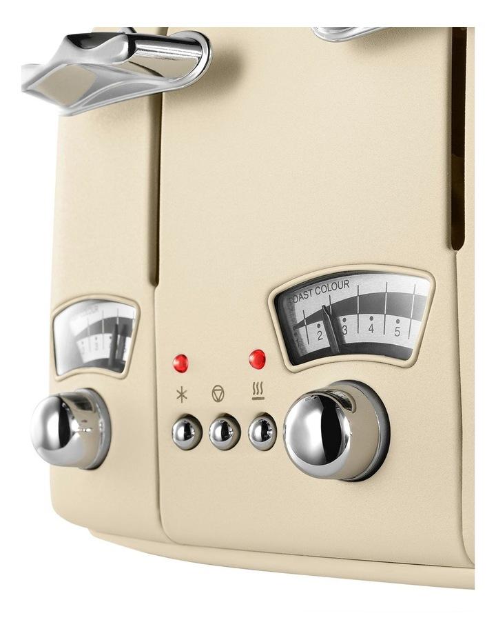 Argento 4 Slice Toaster: Beige: CT04BG image 7