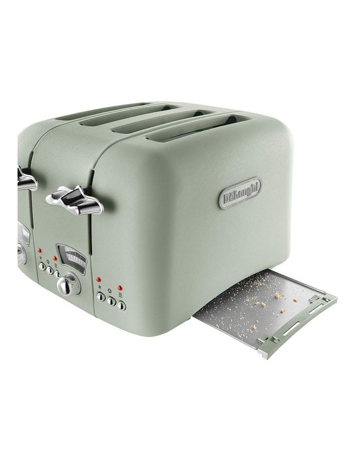 Argento 4 Slice Toaster Green CT04GR image 5