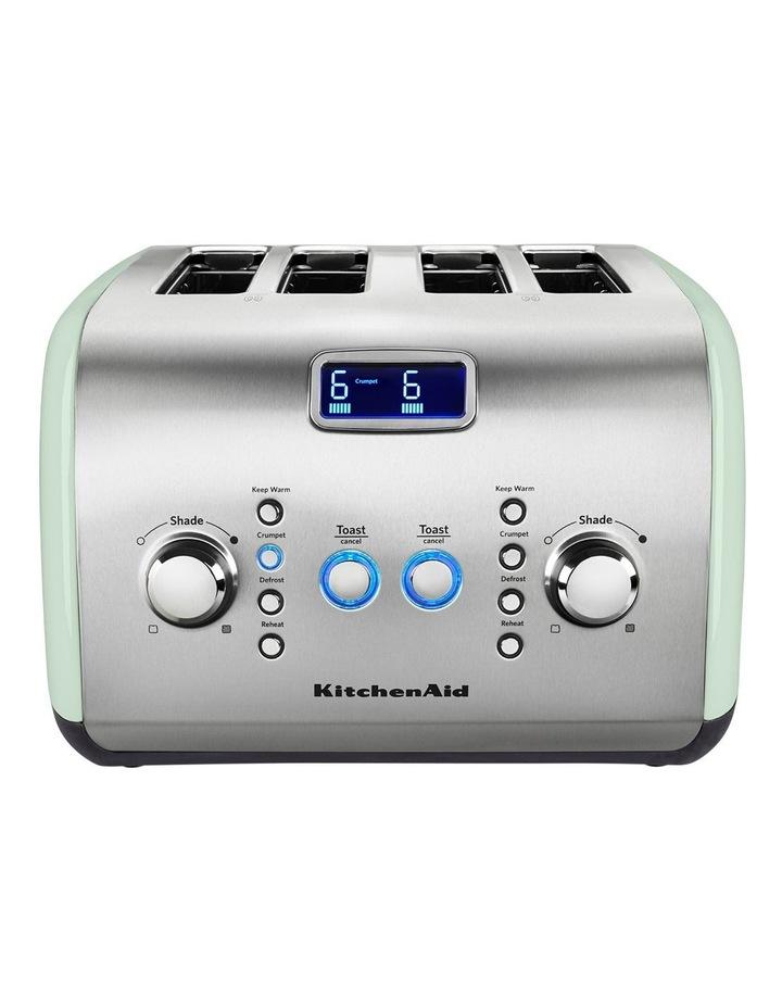 Artisan 4 Slice Toaster: Pistachio: 5AKMT423APT image 1