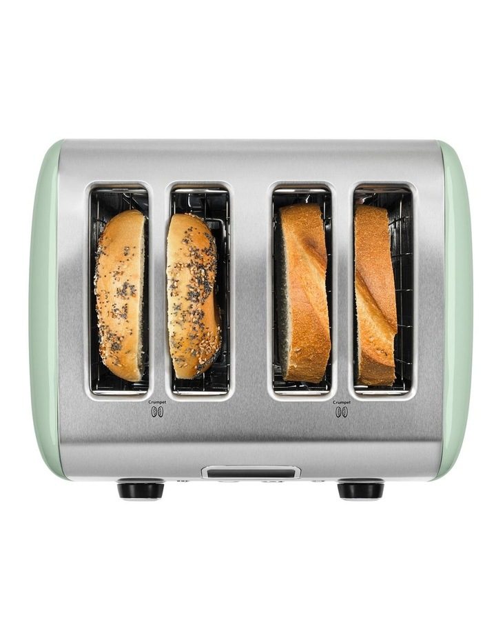 Artisan 4 Slice Toaster: Pistachio: 5AKMT423APT image 6