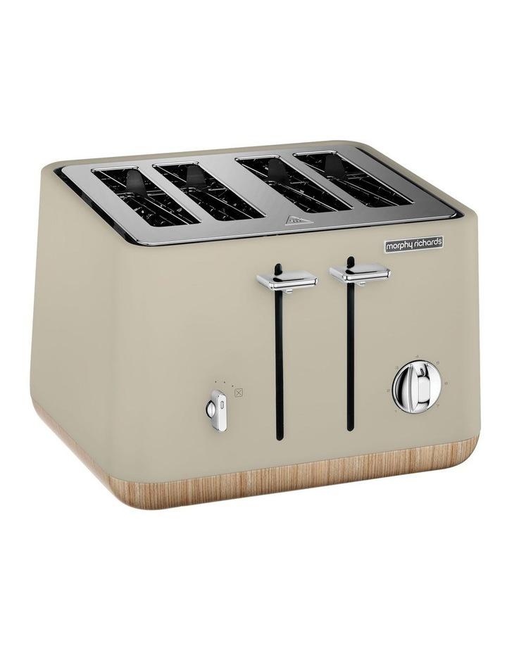 Scandi Aspect 4 Slice Toaster Stone 240010 image 1