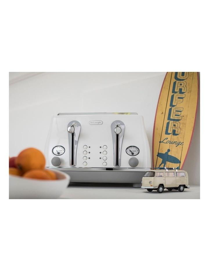Icona Capitals Sydney 4 Slice Toaster White CTOC4003W image 4