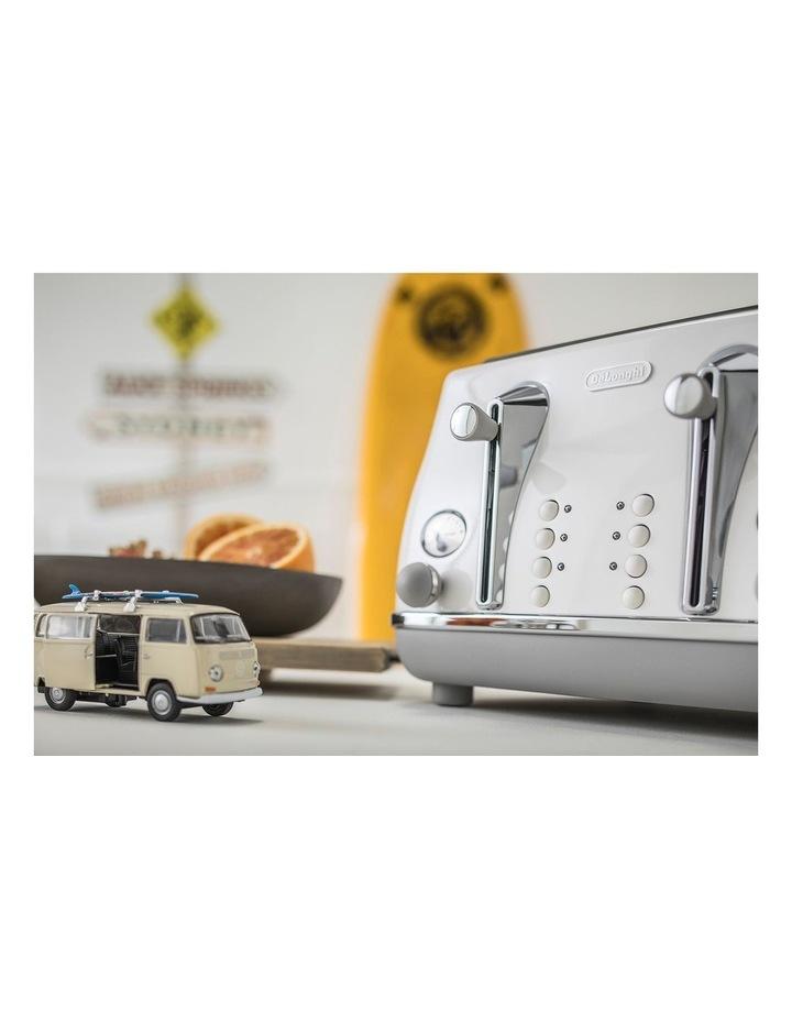 Icona Capitals Sydney 4 Slice Toaster White CTOC4003W image 5
