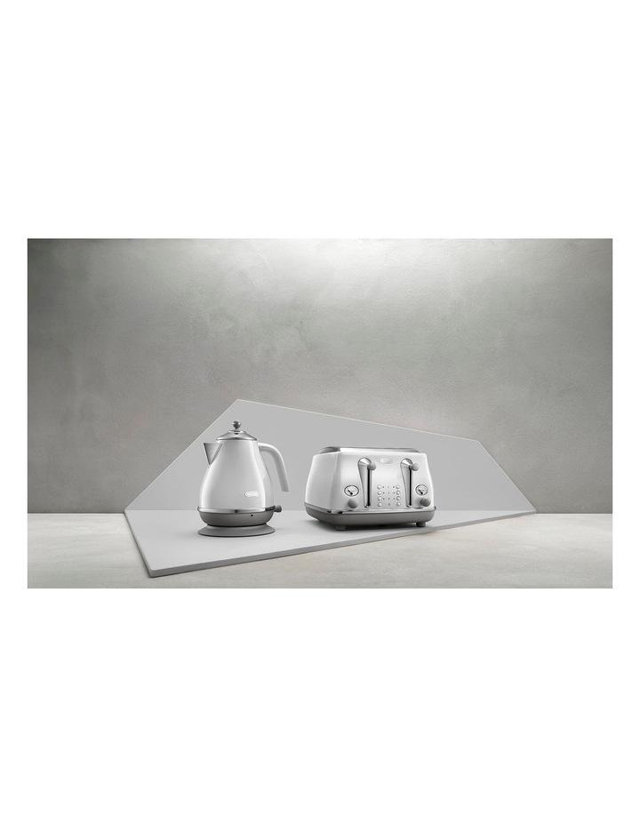 Icona Capitals Sydney 4 Slice Toaster White CTOC4003W image 7