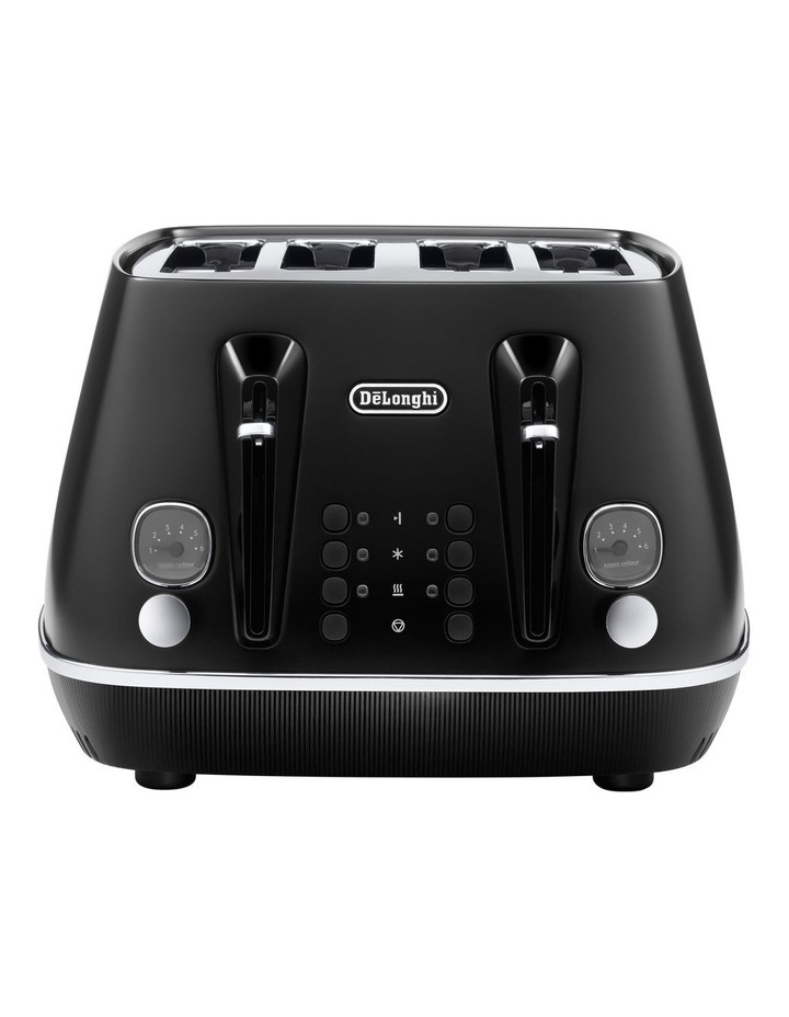 Distinta Moments 4 Slice Toaster: Sunset Black CTIN4003BK image 2