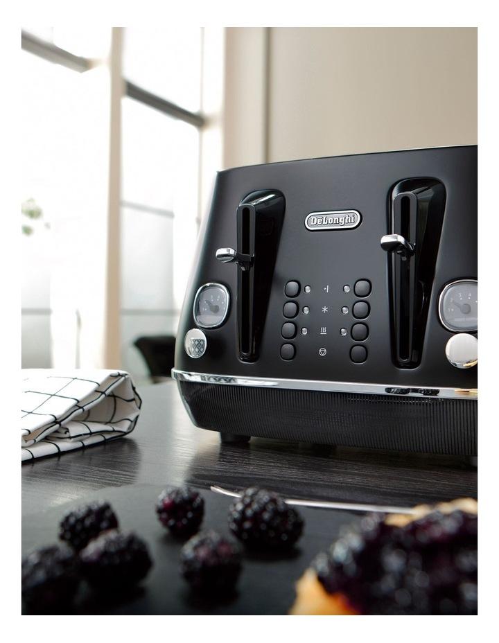 Distinta Moments 4 Slice Toaster: Sunset Black CTIN4003BK image 3