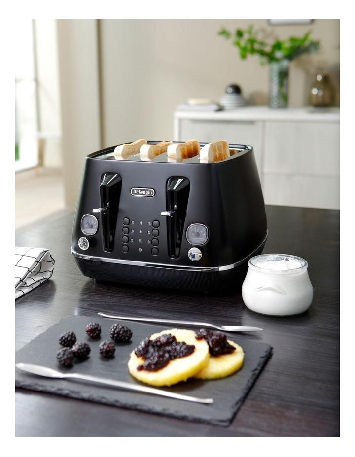 Distinta Moments 4 Slice Toaster: Sunset Black CTIN4003BK image 4