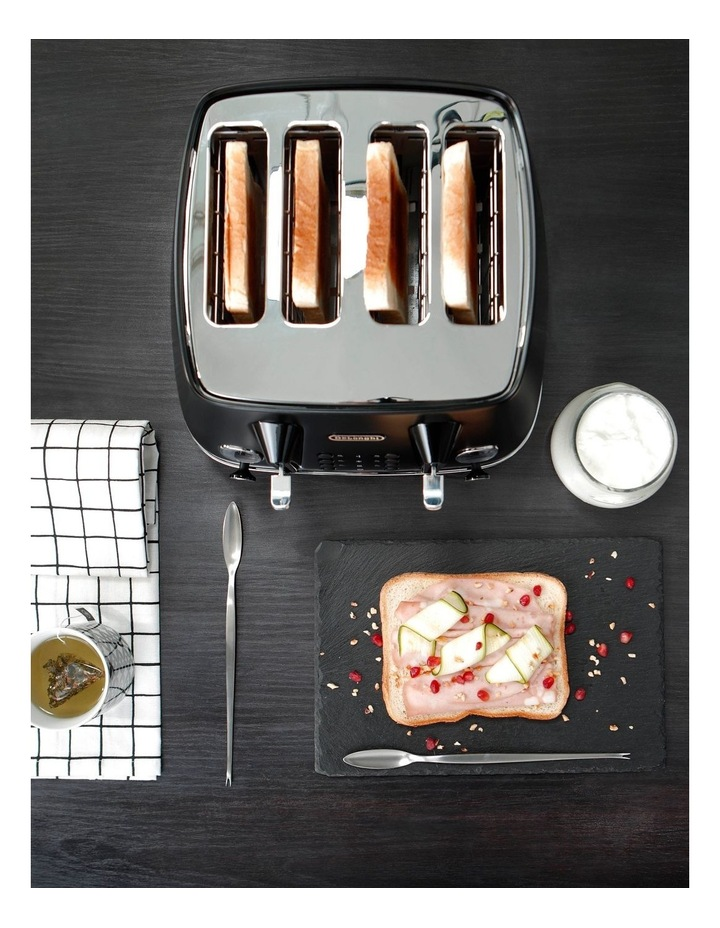 Distinta Moments 4 Slice Toaster: Sunset Black CTIN4003BK image 6