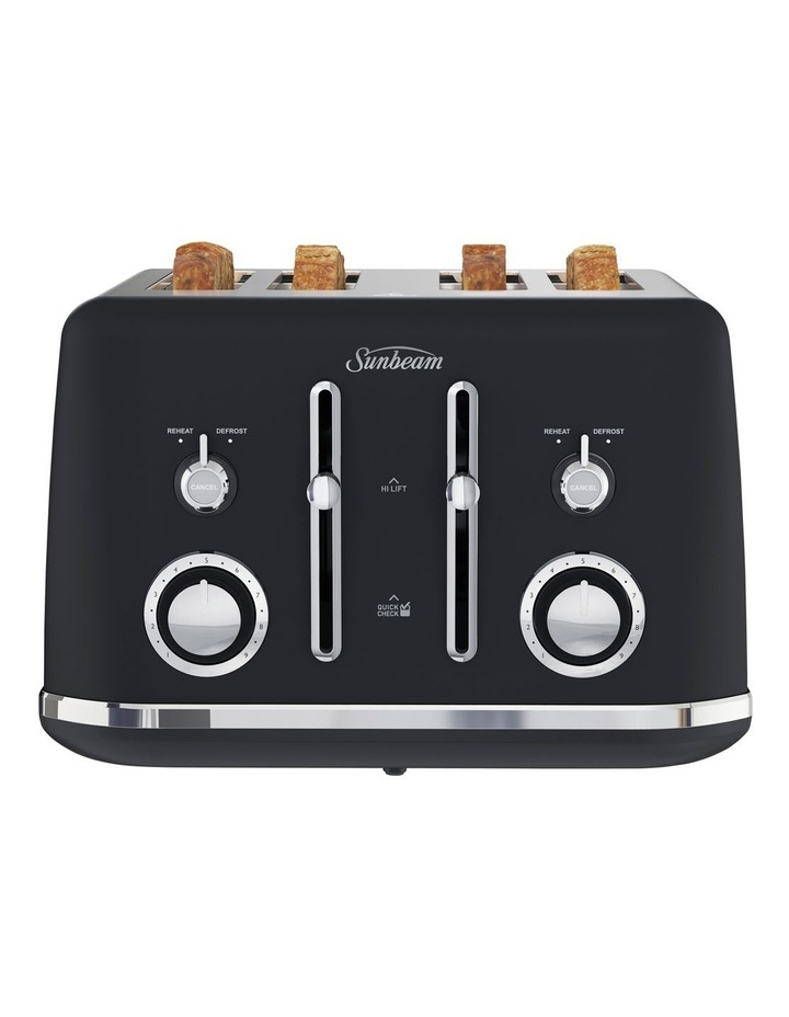 Alinea 4 Slice Toaster Dark Canyon Black TA2740K image 1