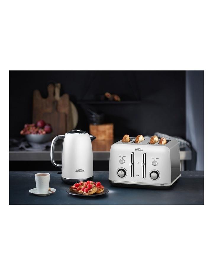 Alinea 4 Slice Toaster Ocean Mist White TA2740W image 2
