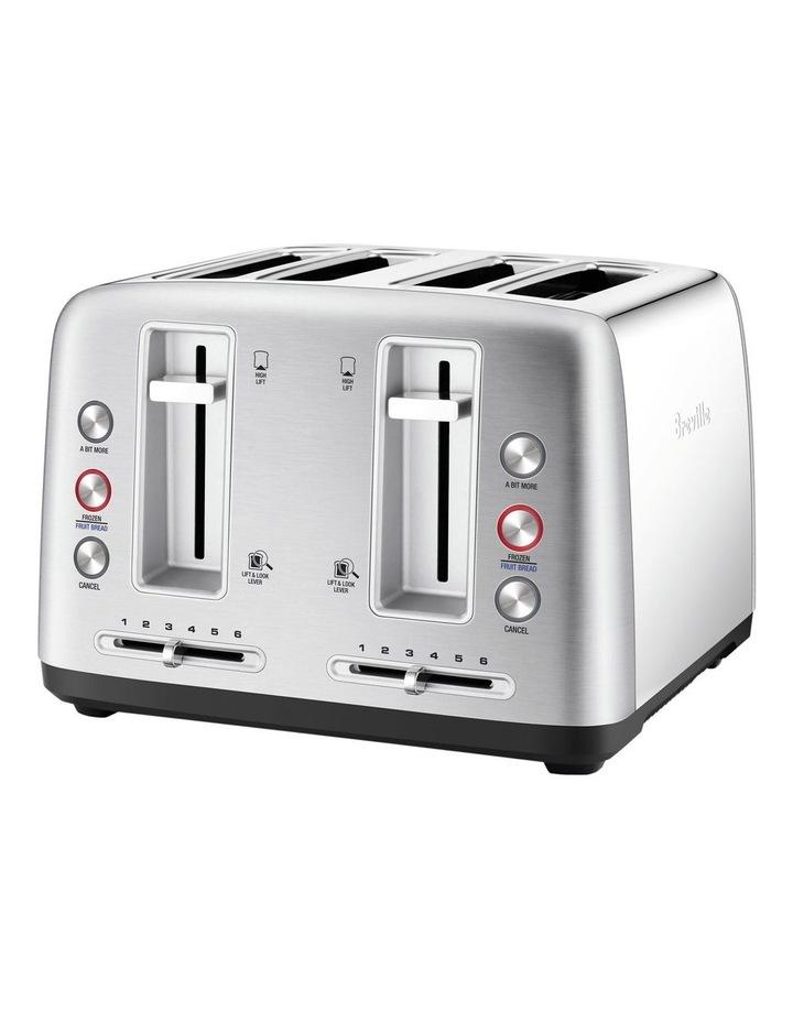 the Toast Control 4 Slice Toaster Stainless Steel LTA670BSS image 1