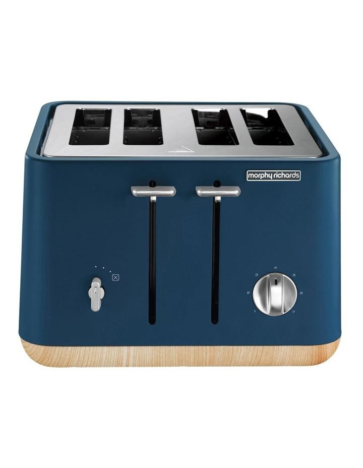 Scandi 4 Slice Toaster Deep Blue 240013 image 1