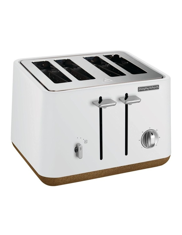 Aspect 4 slice toaster Cork/White 240016 image 1