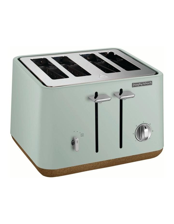 Aspect 4 slice toaster Cork/Mint 240015 image 1