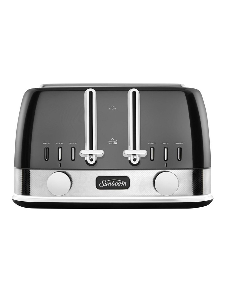 New York Collection 4 Slice Toaster Dark Stainless TA4440GR image 1