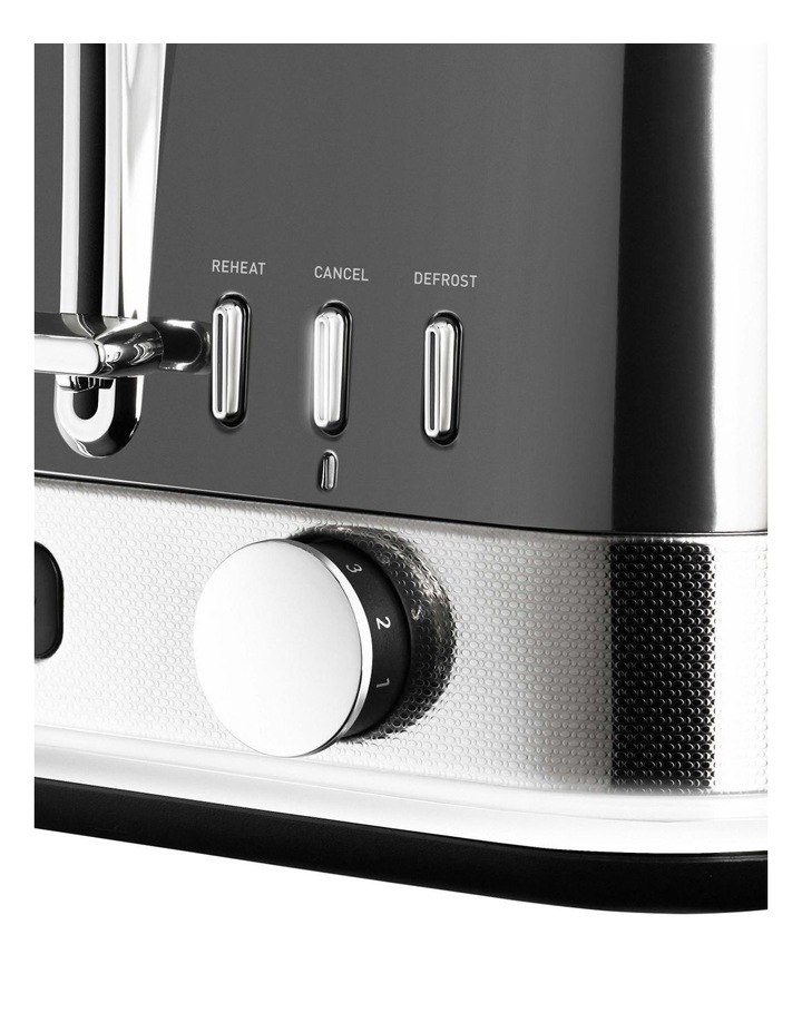 New York Collection 4 Slice Toaster Dark Stainless TA4440GR image 2