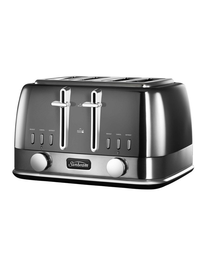 New York Collection 4 Slice Toaster Dark Stainless TA4440GR image 3