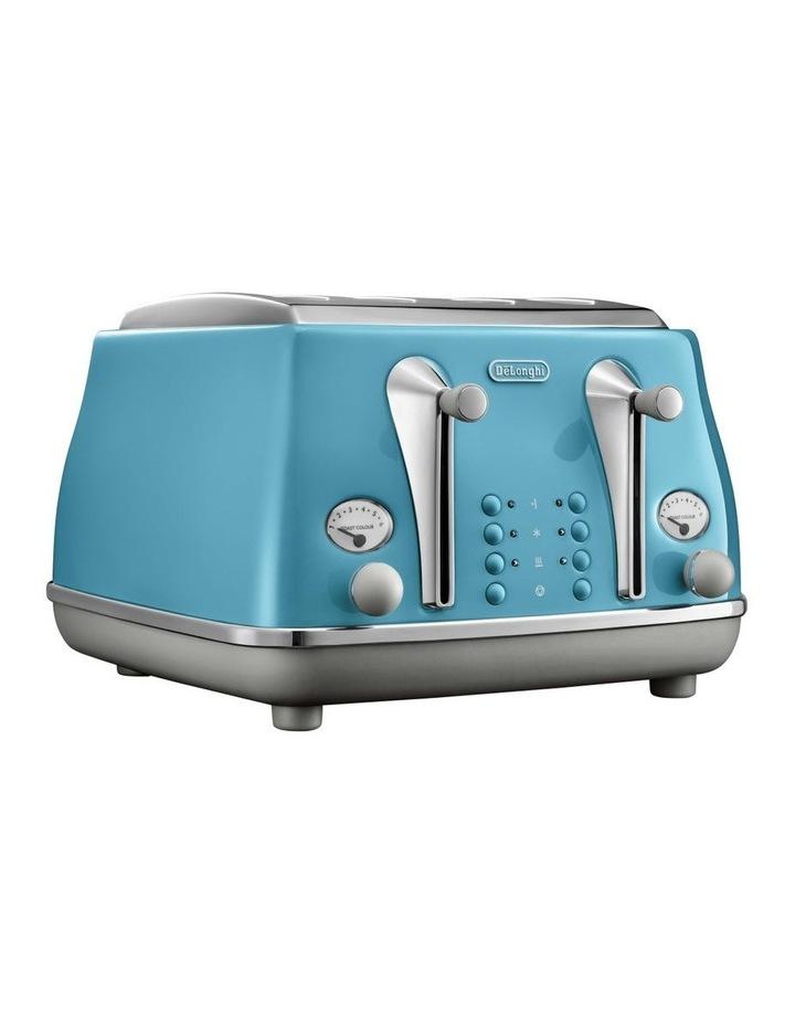 Icona Capitals Lisbon 4 Slice Toaster Azure CTOC4003AZ image 1
