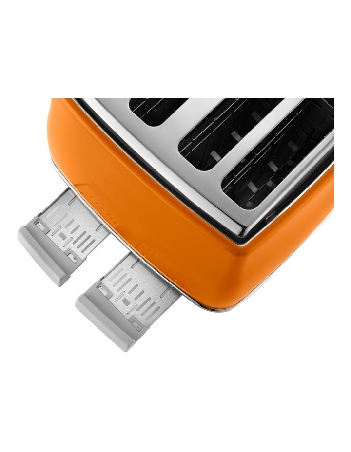 Icona Capitals 4 Slice Toaster - Rome Orange CTOC4003O image 4