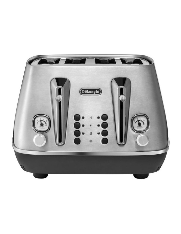 Distinta Livenza Collection 4 Slice Toaster Brushsed Metal CTI4003M image 1
