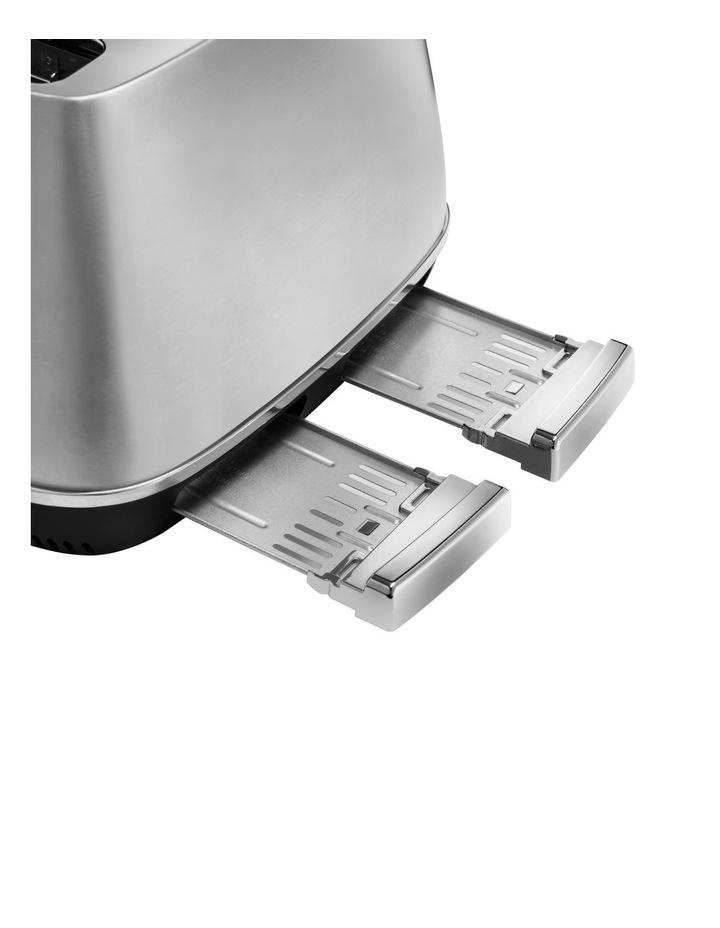 Distinta Livenza Collection 4 Slice Toaster Brushsed Metal CTI4003M image 3