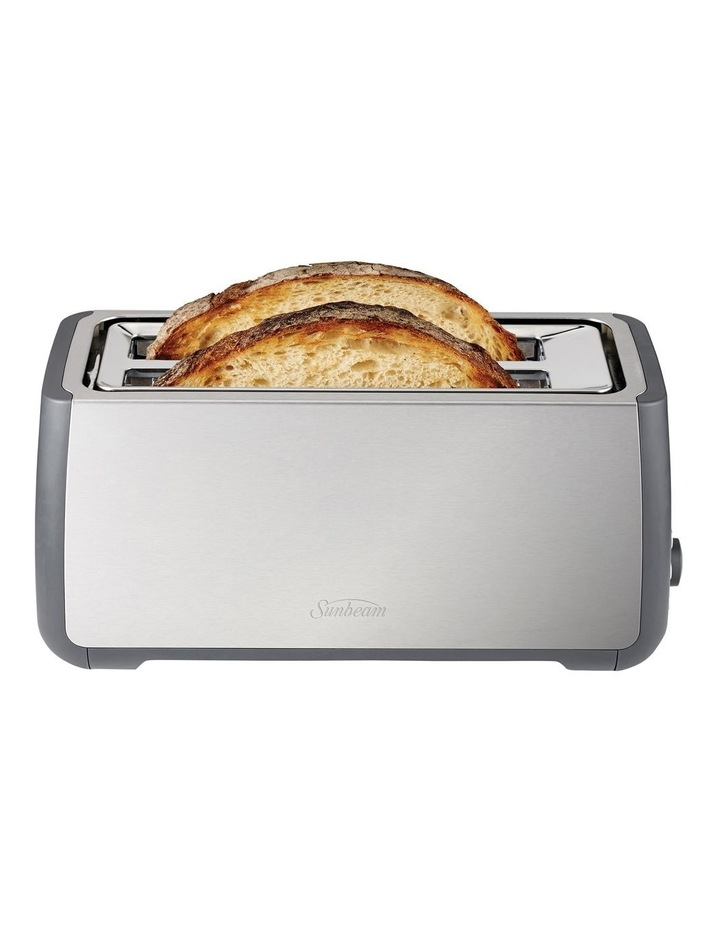 Long Slot 4 Slice Toaster Stainless Steel TA4540 image 2
